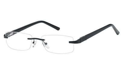 Rimless Glasses 213 --> Black