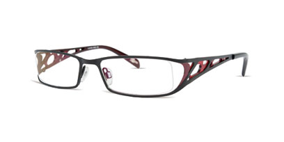 X-Eyes Designer Glasses X-EYES 129 --> Black