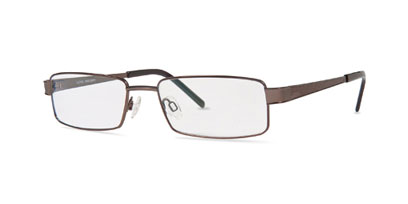 X-Eyes Designer Glasses X-EYES 2006 Ti (Titanium) --> Brown