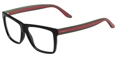 Gucci Designer Glasses GG 1008 51N --> Black and Grey