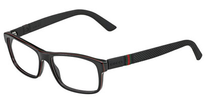 Gucci Designer Glasses GG 1066 4UV --> Black
