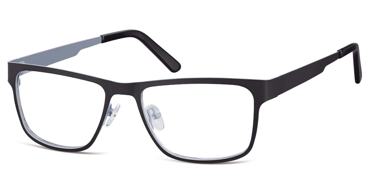 Cheap Glasses 627 --> Black and Grey