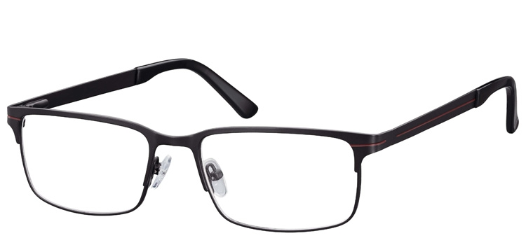Cheap Glasses 632 --> BLACK - BURGANDY